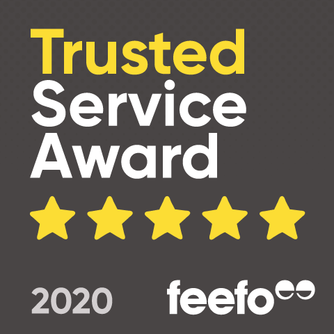 Trusted Service Award - feefo