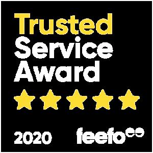 Trusted Service Award - feefo