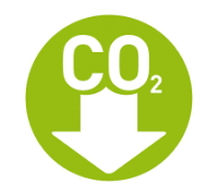 lower carbon dioxide